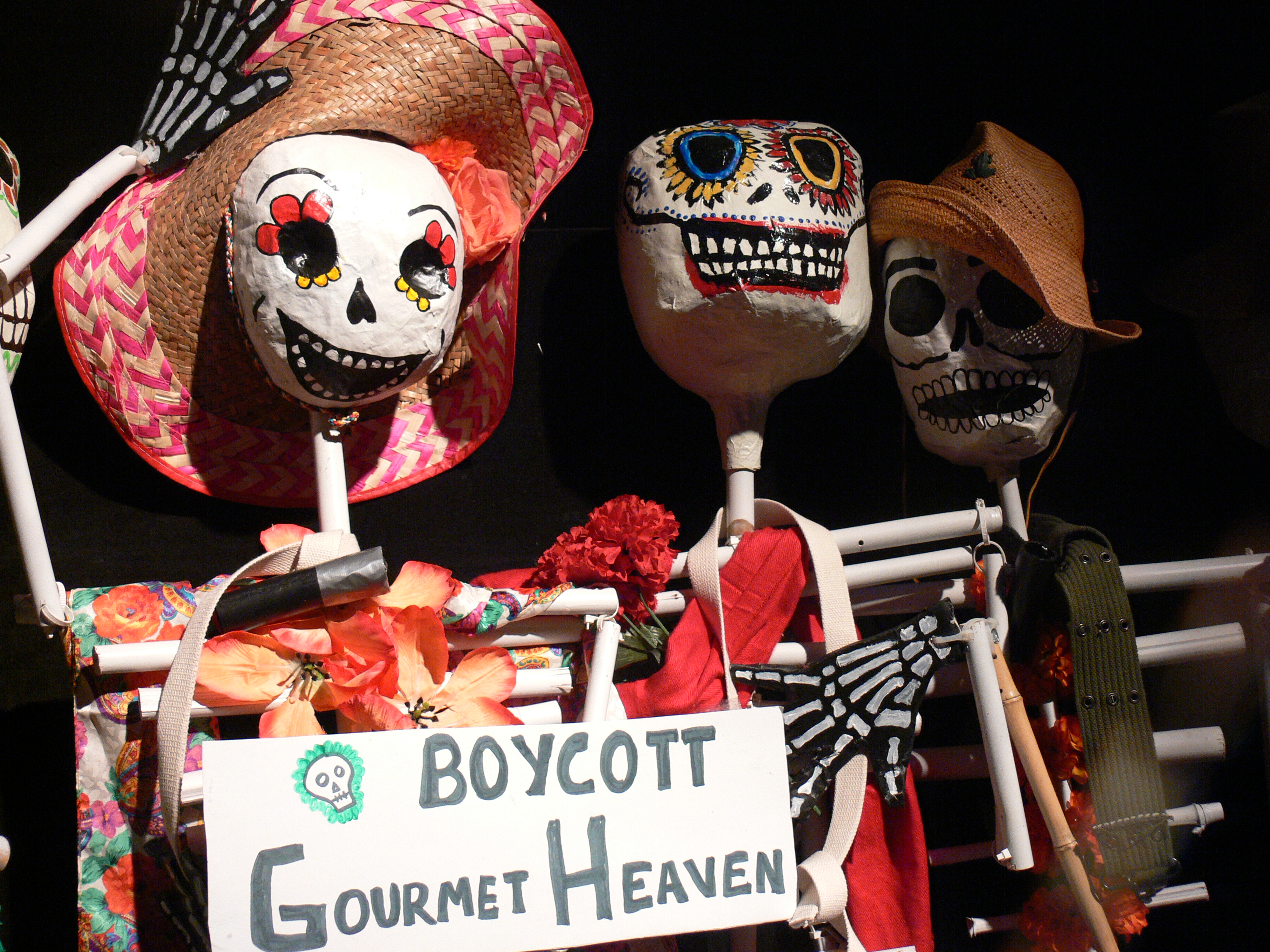 Trick or Treat or Boycott Gourmet Heaven