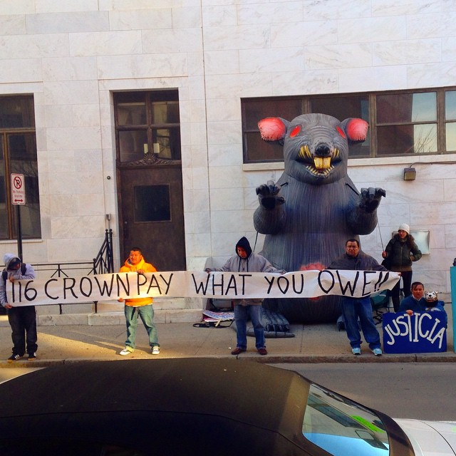 Wage Theft Infestation at 116 CROWN