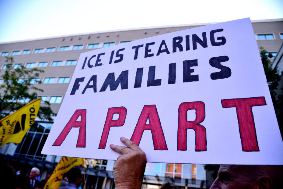 ICE tearing families