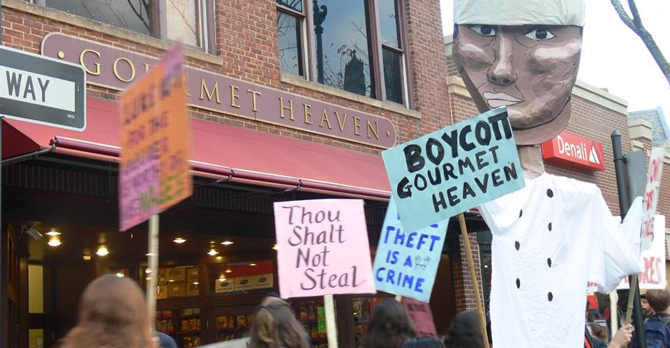 Sign the petition, Boycott Gourmet Heaven, Rally April 8, 2014
